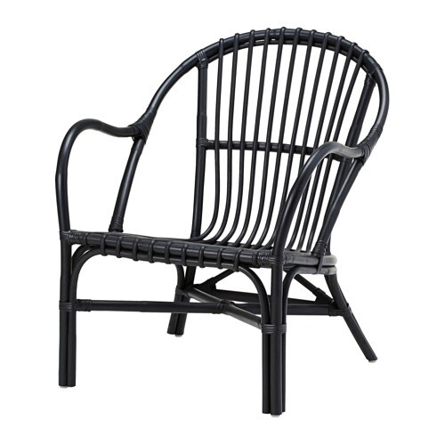 nipprig 2015 fauteuil noir ikea. Black Bedroom Furniture Sets. Home Design Ideas