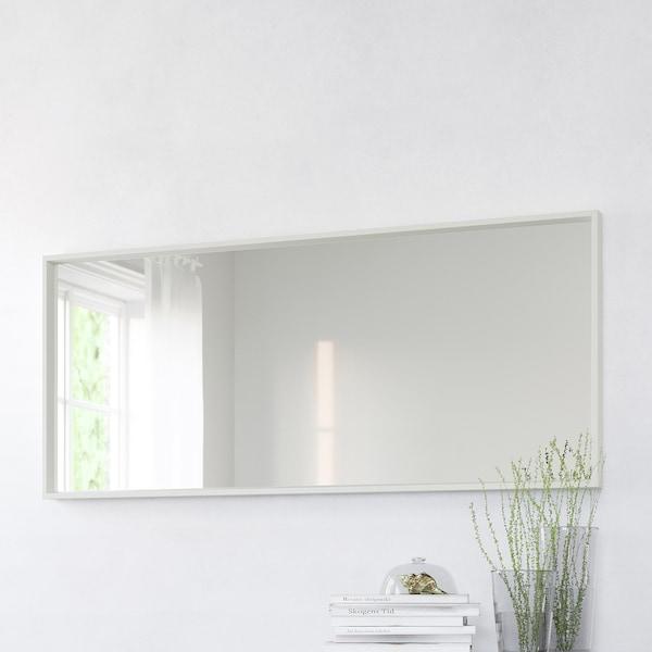 NISSEDAL Miroir, blanc, 65x150 cm