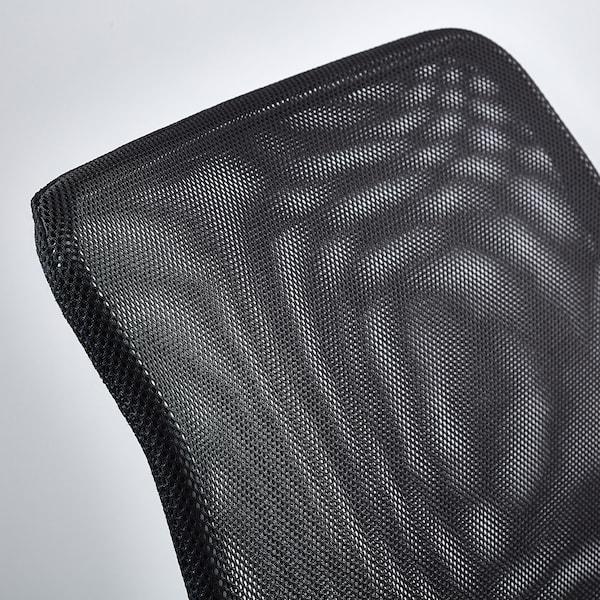 NOLMYRA fauteuil noir/noir 64 cm 75 cm 75 cm 59 cm 46 cm 40 cm