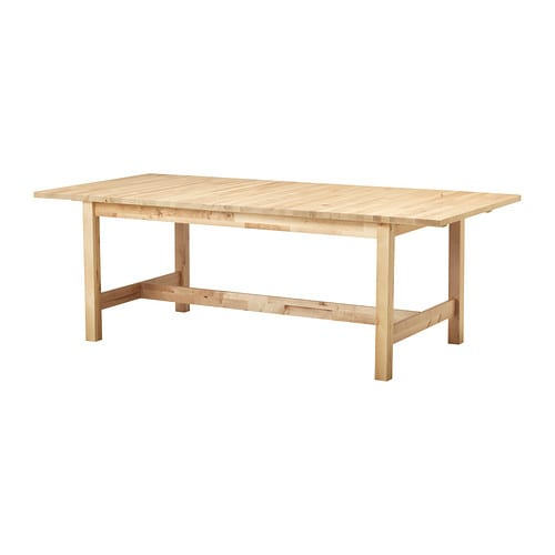 Norden table extensible ikea for Salle a manger 10 personnes