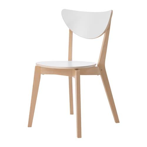 Nordmyra chaise ikea - Chaise en paille blanche ...