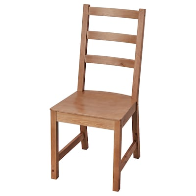 NORDVIKEN Chaise, vernis effet anc