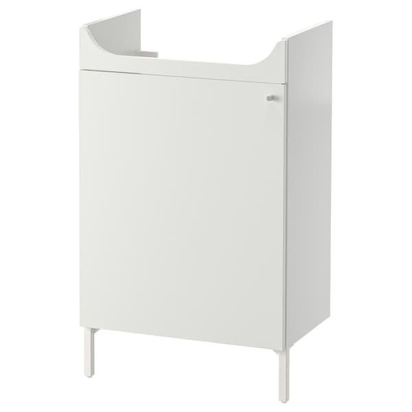 NYSJÖN Élément lavabo, blanc, 50x83 cm