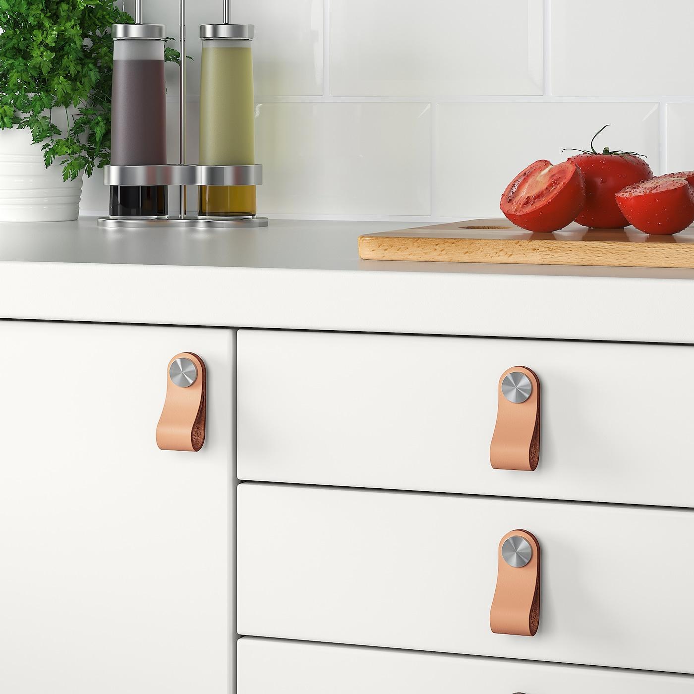 ÖSTERNÄS Poignée cuir - cuir tanné 12 mm