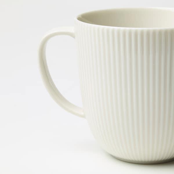 OFANTLIGT mug blanc 9 cm 31 cl
