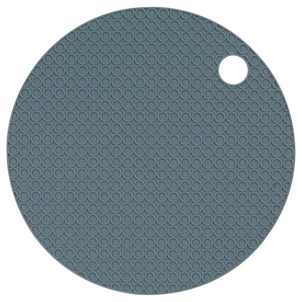 OMTÄNKSAM ouvre-bocal gris bleu 15 cm