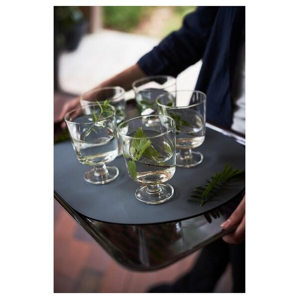 OMTÄNKSAM Set de table anti-dérapant, vert, 45x35 cm