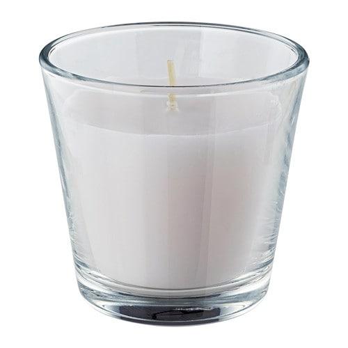 Omtalad bougie parfum e dans verre ikea - Ikea pot en verre ...