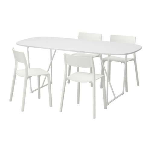 oppeby backaryd janinge table et 4 chaises ikea. Black Bedroom Furniture Sets. Home Design Ideas