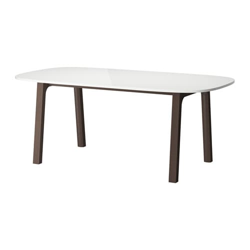 oppeby table v stan brun fonc ikea