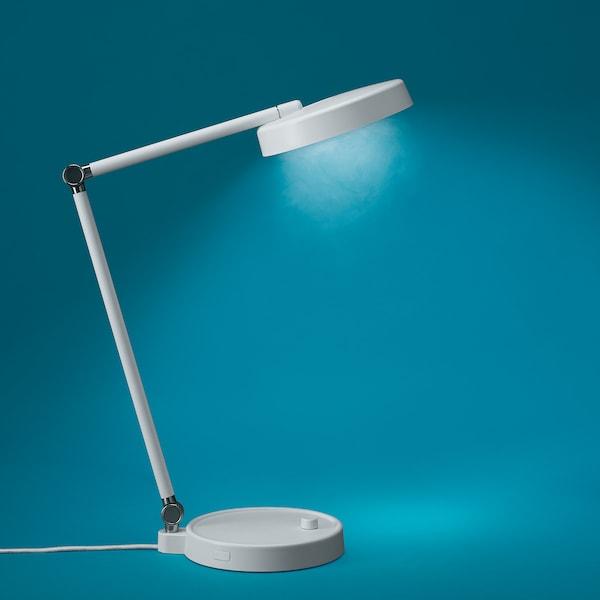 Orsala Lampe De Bureau A Led Intensite Lumineuse Reglable Blanc Ikea