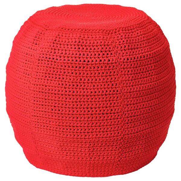 Otteron Housse Pour Pouf Int Exterieur Rouge 48 Cm Ikea