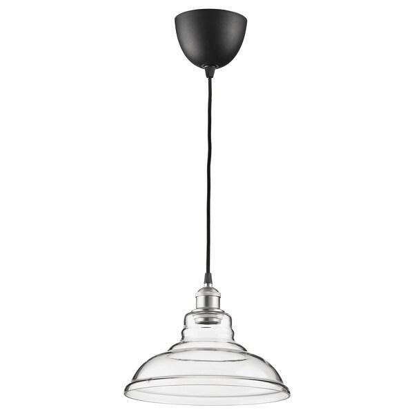 OVANBY suspension transparent verre 13 W 180 cm 30 cm 1.6 m