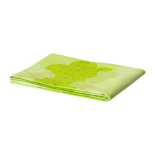ÖVERLÄGSEN Nappe en papier , vert Longueur: 180 cm Largeur: 120 cm