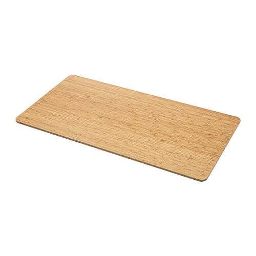 ÖVRARYD Plateau de table IKEA Plateau de table en bambou, un matériau très résistant.