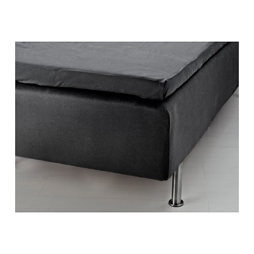 oxel cache sommier 160x200 cm ikea. Black Bedroom Furniture Sets. Home Design Ideas