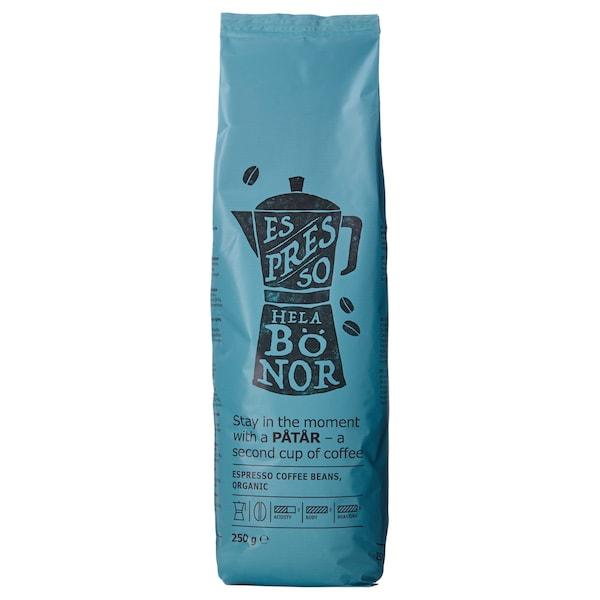 PÅTÅR Café expresso, grains, bio/Certifié UTZ/100% Arabica