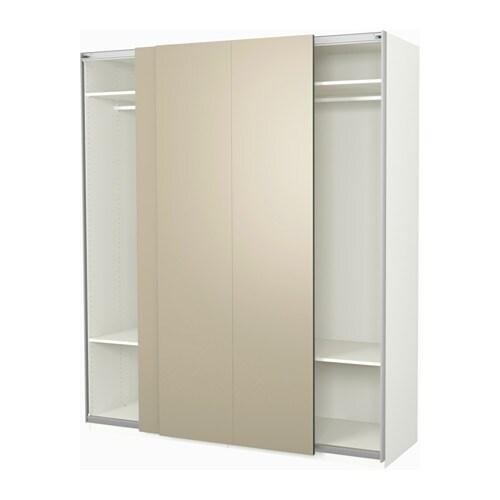 Pax armoire penderie 200x66x236 cm ikea - Armoire penderie hauteur 120 cm ...
