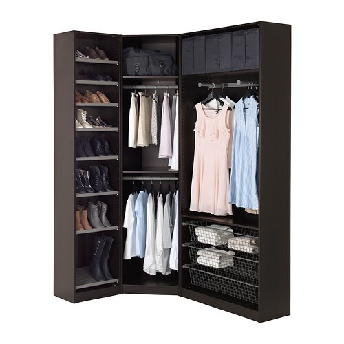 pin armoire ikea pax ballstad blanche portes penderie. Black Bedroom Furniture Sets. Home Design Ideas