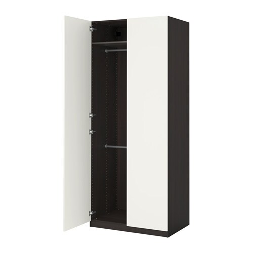 pax armoire penderie 100x60x236 cm charni res standard ikea. Black Bedroom Furniture Sets. Home Design Ideas