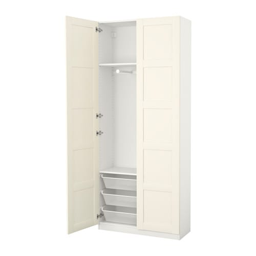 pax armoire penderie 100x38x236 cm ikea. Black Bedroom Furniture Sets. Home Design Ideas
