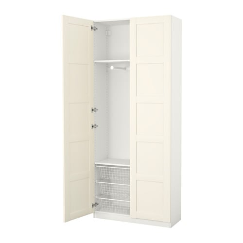 pax armoire penderie charni res standard 100x38x236 cm ikea. Black Bedroom Furniture Sets. Home Design Ideas