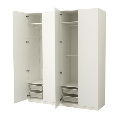 pax armoire penderie 200x60x236 cm charni re fermeture silencieuse ikea. Black Bedroom Furniture Sets. Home Design Ideas