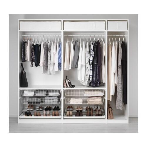pax armoire penderie 250x58x236 cm ikea. Black Bedroom Furniture Sets. Home Design Ideas