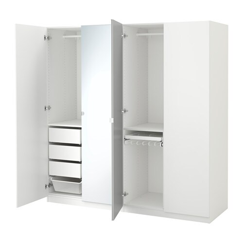 pax armoire penderie 200x60x201 cm charni re fermeture silencieuse ikea. Black Bedroom Furniture Sets. Home Design Ideas