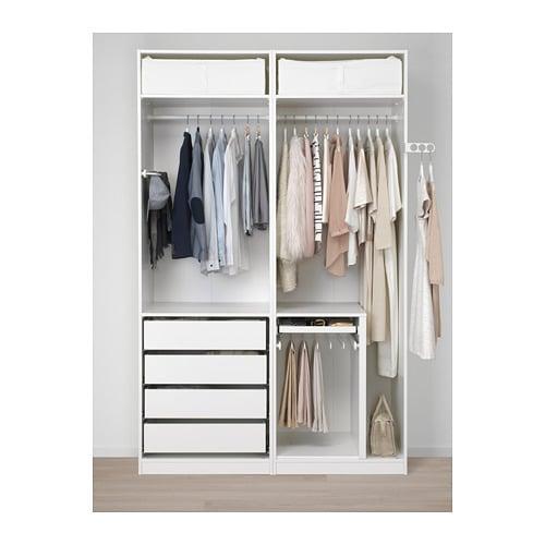 pax armoire penderie 150x58x236 cm ikea. Black Bedroom Furniture Sets. Home Design Ideas
