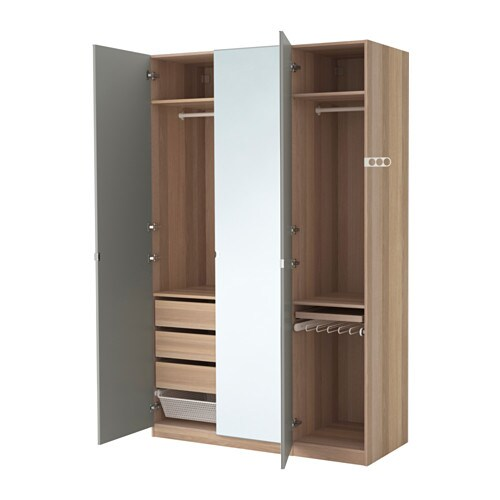 pax armoire penderie 150x60x236 cm ikea. Black Bedroom Furniture Sets. Home Design Ideas