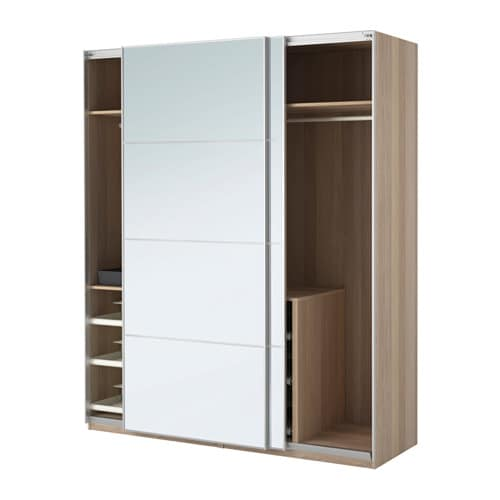 pax armoire penderie 200x66x236 cm accessoire de. Black Bedroom Furniture Sets. Home Design Ideas