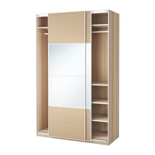 Pax armoire penderie 150x66x236 cm accessoire de - Porte coulissante salle de bain ikea ...