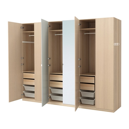 Pax armoire penderie 300x60x236 cm ikea for Armoire modulable