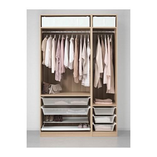Pax armoire penderie 150x58x236 cm ikea - Ikea caisson dressing ...