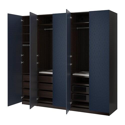 PAX Armoire-penderie - 250x60x236 cm - IKEA