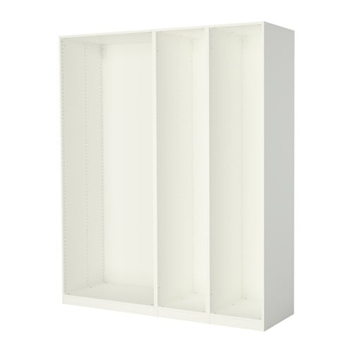 pax 3 caissons armoire blanc ikea. Black Bedroom Furniture Sets. Home Design Ideas