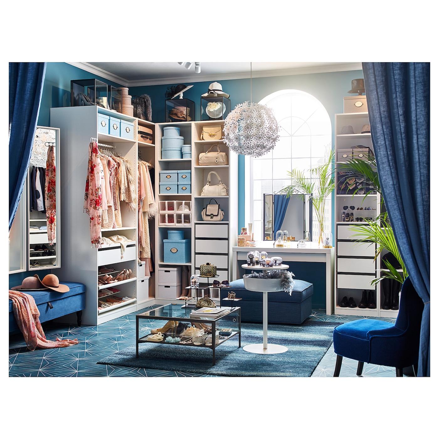 Dressing Ikea Angle Sans Porte pax armoire d'angle - blanc 160/188x236 cm