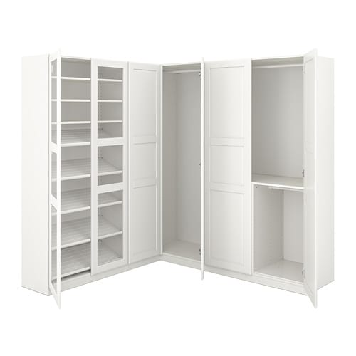 pax penderie d 39 angle 210 188x201 cm ikea. Black Bedroom Furniture Sets. Home Design Ideas