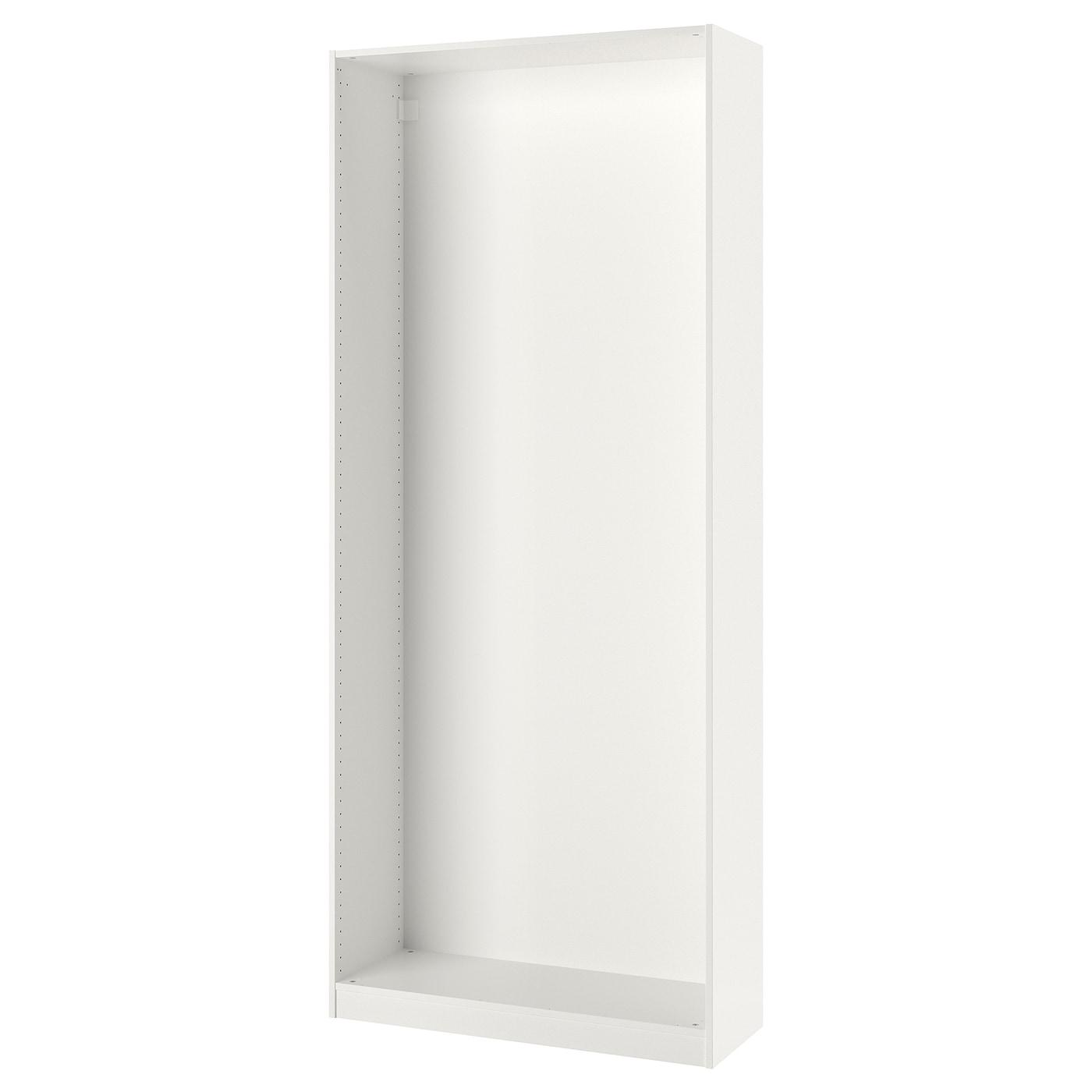 Dressing 30 Cm Profondeur pax caisson d'armoire - blanc 100x35x236 cm