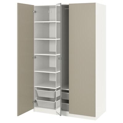 PAX armoire-penderie blanc/Forsand Vikedal 125.0 cm 60.0 cm 201.2 cm