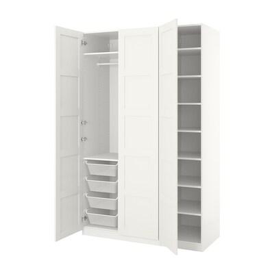 PAX armoire-penderie blanc/Bergsbo blanc 150.0 cm 60.0 cm 236.4 cm