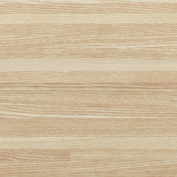 PINNARP Plan de travail, frêne/plaqué, 246x3.8 cm
