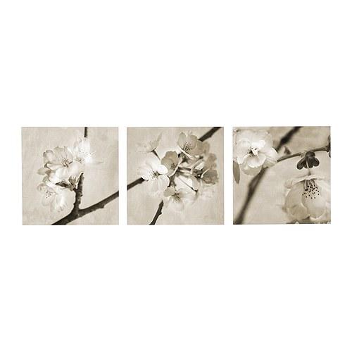 PJÄTTERYD Reproduction, lot de 3 , Flora Maia Hauteur: 56 cm / 56 cm