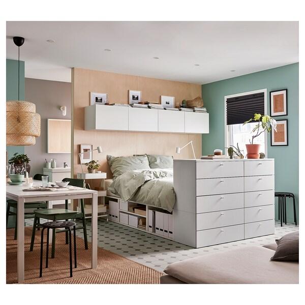 IKEA PLATSA Cadre de lit avec 10 tiroirs