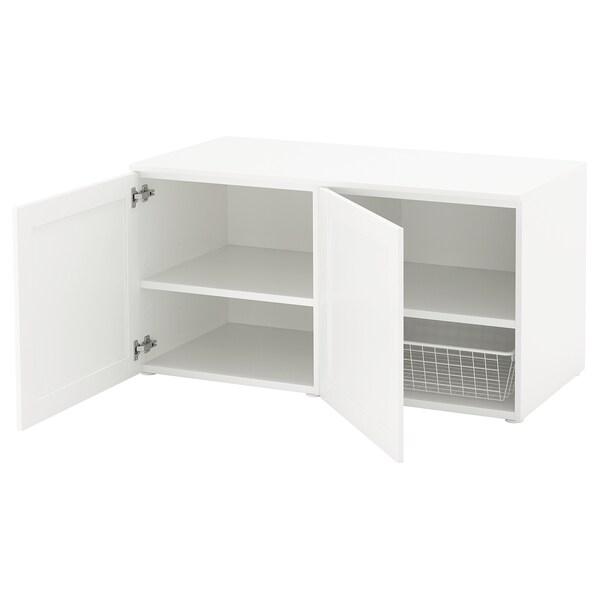 Platsa Banc Avec Rangement Blanc Sannidal Blanc Ikea