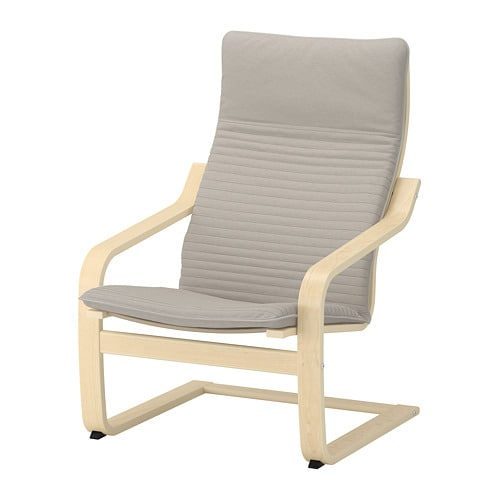 Poäng Coussin Fauteuil Knisa Beige Clair Ikea