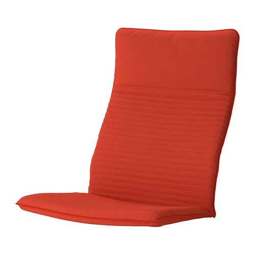 Po 196 Ng Coussin Fauteuil Knisa Rouge Orange Ikea