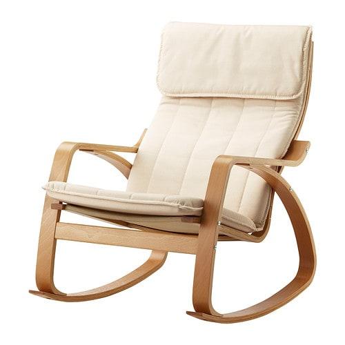 Po ng fauteuil bascule ransta cru ikea - Fauteuil a bascule ikea ...