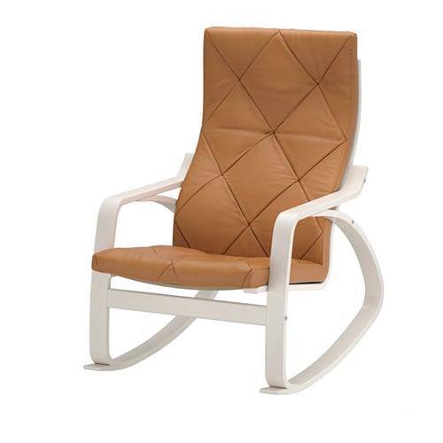 Po Ng Fauteuil Bascule Seglora Naturel Ikea